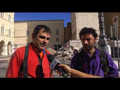 Chieti - Speleologi sotto Piazza San Giustino