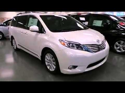 2015 toyota sienna limited premium 7 passenger youtube. Black Bedroom Furniture Sets. Home Design Ideas