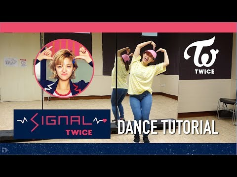 TWICE SIGNAL Dance Tutorial | Full w Mirror [Charissahoo]