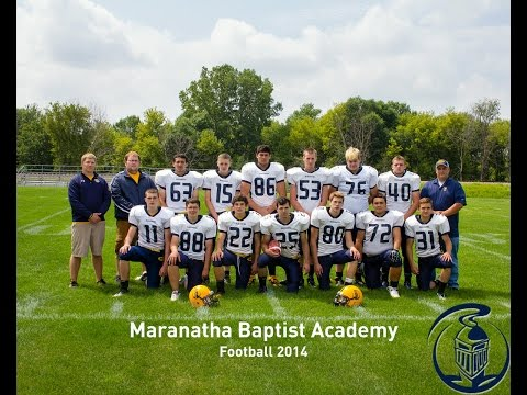 Maranatha Academy Football 2014 Top 20 Plays