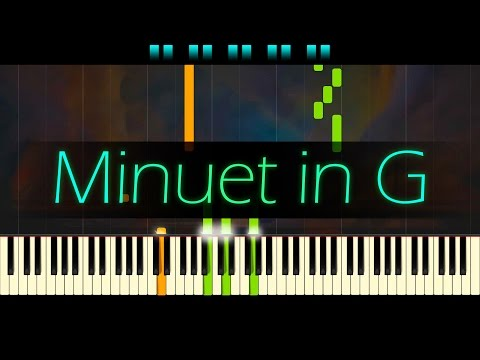 Minuet in G major  CHRISTIAN PETZOLD