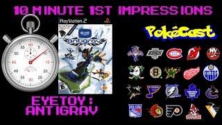 10 Minute 1st Impressions : EyeToy: AntiGrav