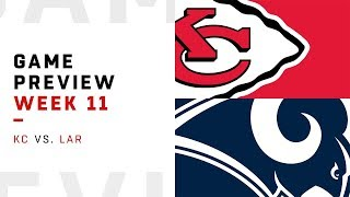 Kansas City Chiefs vs. Los Angeles Rams | Week 11 Game Preview | Move the Sticks