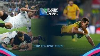 TOP 10 RWC Tries Countdown - Part 1