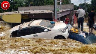 WOW!! Banjir Parah Sapu Wilayah Bandung Ketinggian Air Mencapai 1,5 Meter, warga Resah