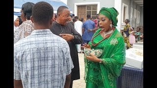 See Jide Kosoko And His Beautiful Children At  His DaughterSola Kosoko39 Baby Naming Ceremony