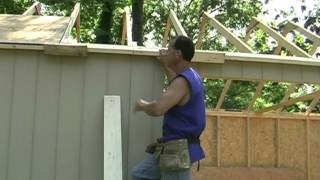 Shed building tips.(Overhangs made easy)