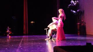 Victoria Teel with Issam Houshan @ Bellydance Superstar