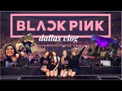 BLACKPINK IN MY AREA Ll Dallas Concert VLOG