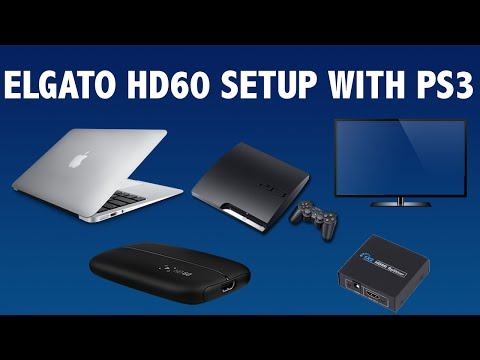How to Setup the Elgato HD60 for PS3 - EASY WORKING TUTORIAL