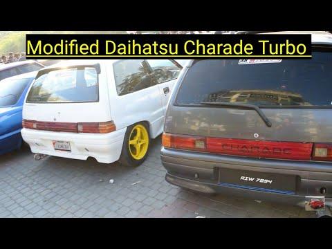 Daihatsu Charade Turbo Fully Modified   Cars Hunt   Pakwheels