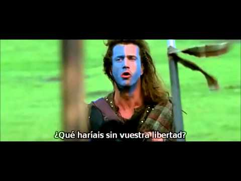 Discurso de William Wallace ¡¡La Libertad!!