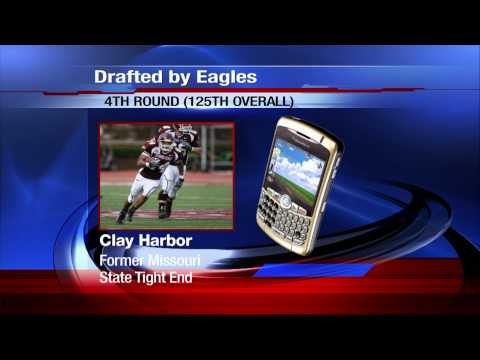 Conversation with Eagles Draftee Clay Harbor
