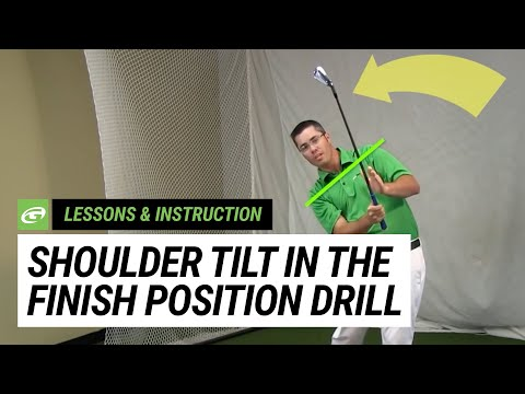 The Tilt Drill for a Proper Finish Position