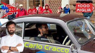 Tutte le macchine della Mille Miglia 2019 a Cremona, vip al volante da Carlo Cracco a Joe Bastianic