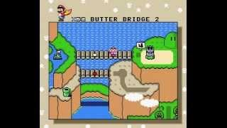 GUIAS: Mario World parte7 (vanilla secrets y butter bridge)