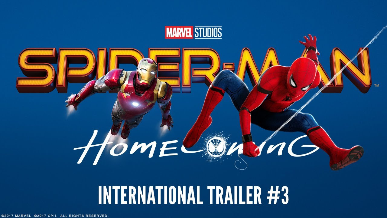spider-man: homecoming - international trailer #3 (hd) - youtube