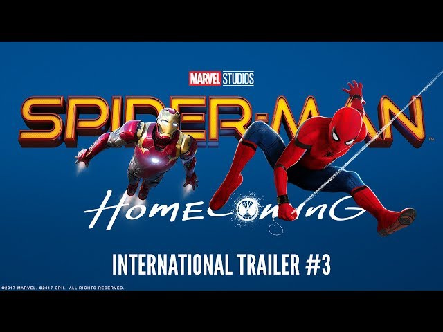 SPIDER-MAN: HOMECOMING - International Trailer #3 (HD)