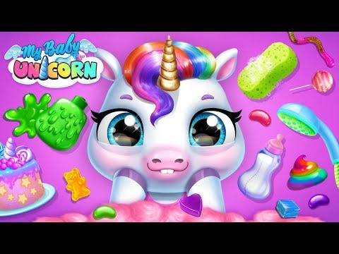 Take Care of Your Unicorn 🦄 Cute Rainbow Pet Care & Dress Up | TutoTOONS Cartoons & Games for Kids