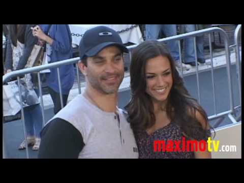 jana kramer and johnathon schaech at quotthe perfect game