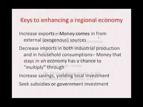 Economic Base:  Introduction to Economic Base Analysis & Community Basic Sector Multipliers