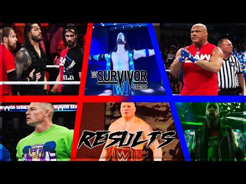 WWE SURVIVOR SERIES 2017 FULL SHOW RESULTS...