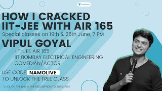 How I cracked JEE with AIR 165 | Vipul Goyal