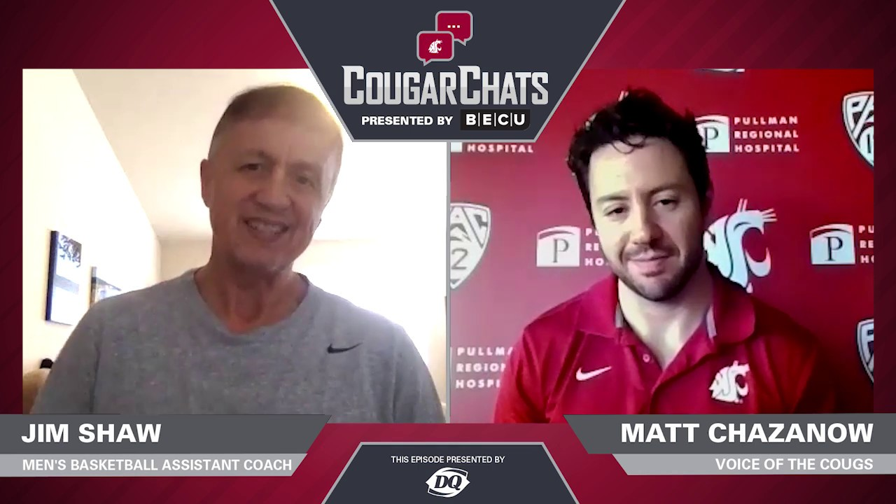 Image for WSU Athletics: Cougar Chats with Coach Jim Shaw webinar