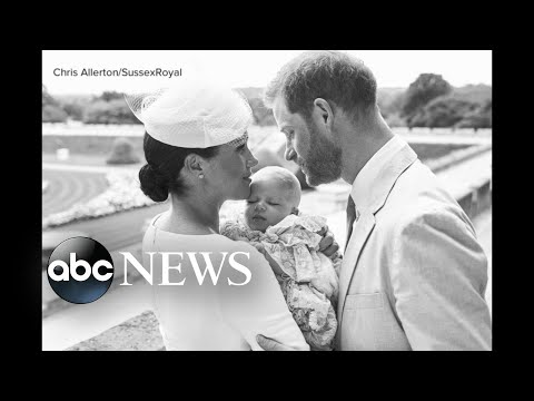 Meghan Markle and Prince Harry baptize baby Archie