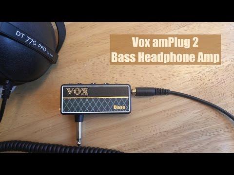 VOX amPlug 2 - Bass Headphone Mini Amp (4K) music