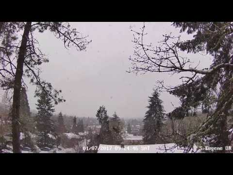 Weather Camera Live Stream - Eugene, OR USA - 1/7/2016