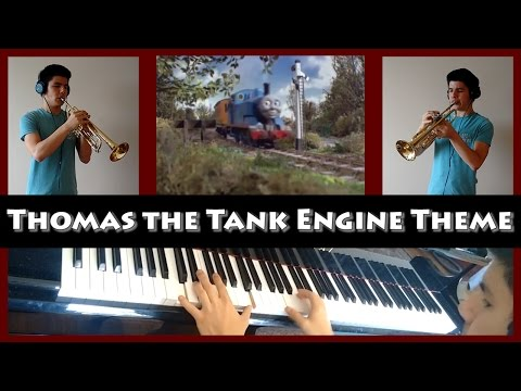 Thomas the Tank Engine Theme Song (Trumpet + piano cover)