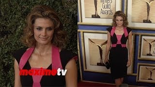 Stana Katic ► 2014 WGA Red Carpet Arrivals - #Castle