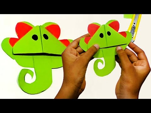 Easy Back To School DIY Paper Elephant Bookmark Corner Designs Tutorials | DIY Paper Crafts