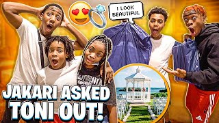 WE TOOK BAM TO GET A SUIT FOR HIS WEDDING & JAKARI ASKED TONI OUT!❤️