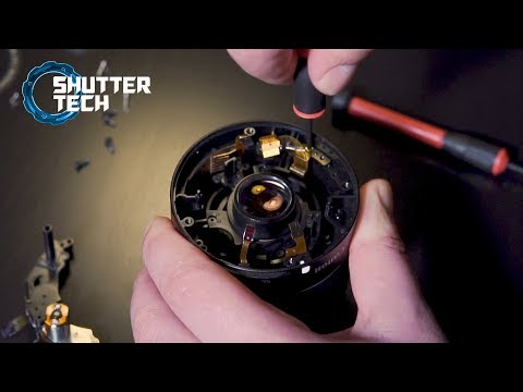 What's inside a camera lens? (Canon EF-S 18-55mm Disassembly)