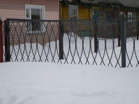 забор из арматуры своими руками