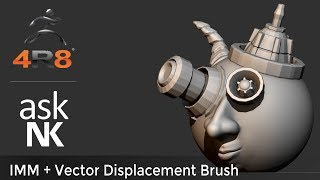 Zbrush 4R8 - IMM and Vector Displacement Brush