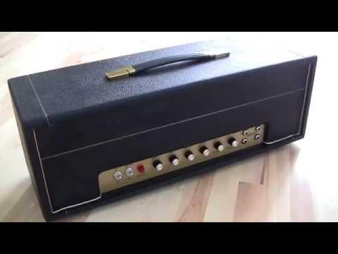 Rockitt Retro 50 watt head. Vintage Marshall Specs Without The High Price Tag