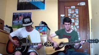 Rojitas Las Orejas - Extremoduro (Román y Manel acoustic cover)