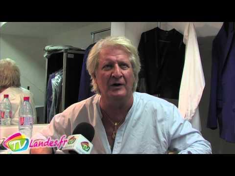 Interview de Patrick Sébastien à Soustons