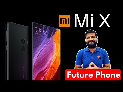 Xiaomi Mi MiX | Phone from the Future!!!