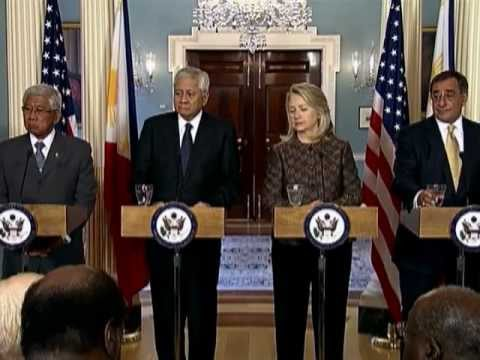 Secretary Clinton Delivers Remarks After Meeting Between the U.S. and the Philippines