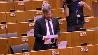 """Intervento in Plenaria dell'europarlamentare Pierfrancesco Majorino su """"Dichiarazioni del vicepresidente della Commissione/alto rappresentante dell'Unione per gli affari esteri e la politica di sicurezza""""."""