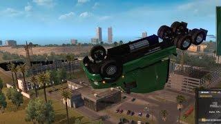Best Crashes Dance Fails Ats American Truck Simulator Autobots