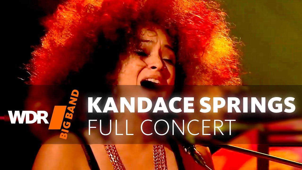 Kandace Springs | WDR BIG BAND | Full Concert  |  Leverkusener Jazztage | 2018