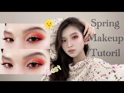 Spring Makeup Tutorial | Trang Điểm LỒNG LỘN Đi Chơi Xuân | DENISE WU