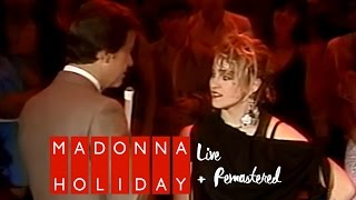 Madonna - Holiday live on American Bandstand + Interview (January 14, 1984)