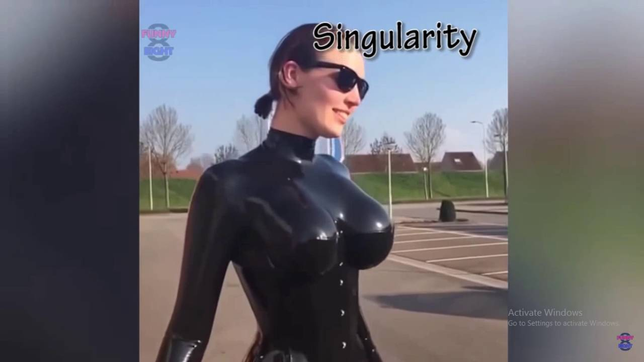 Jumping Girl In Skin Tight - Youtube-2973