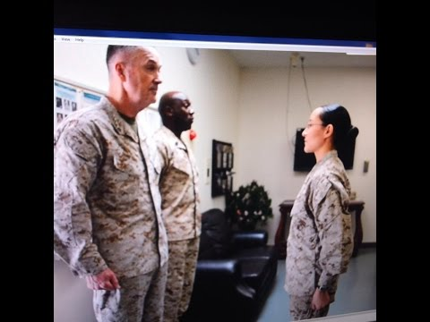 The Commandant and Sergeant Major of the Marine Corps Conduct Interview with AFN Iwakuni